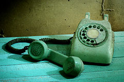Retro telephone, Still life Stock Images