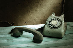 Retro telephone Royalty Free Stock Images
