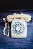 Retro telephone. Stock Images