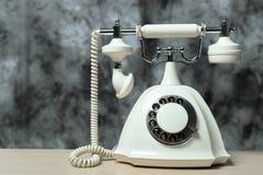 Retro telephone royalty free stock photos