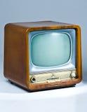 Retro Televisie Stock Foto's