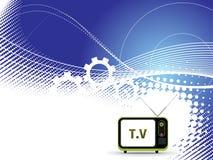 Retro television. Stock Image