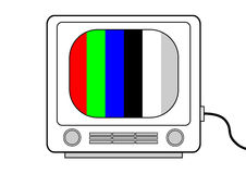 Retro  television Royalty Free Stock Photo