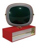Retro Television. A Retro 50's/60's era television fashioned in the style of the Philco Predicta series Stock Photo