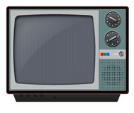 Retro television Royalty Free Stock Images