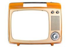 Retro television. Arkivfoton