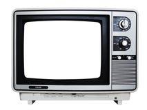 Retro television Fotografering för Bildbyråer