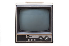 Retro Television. Isolated on white background Royalty Free Stock Image
