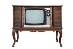 retro television Arkivbild