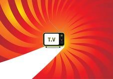 Retro television. Stock Photo