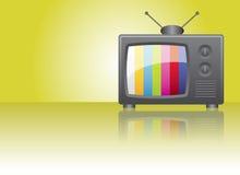 Retro television. Cartoon retro television theme illustration vector illustration