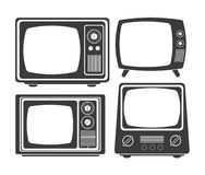 Retro television design Royalty Free Stock Photos