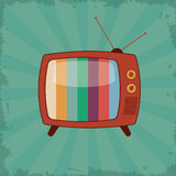 Retro television design Stock Photo