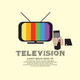 Retro Television. Royalty Free Stock Photos
