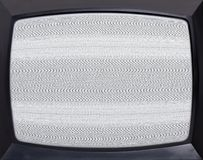 Retro television screen Stock Images