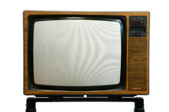 Retro Television Set Royalty Free Stock Images