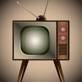 Retro television set. Stock Images