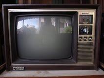 Retro televisione Fotografia Stock Libera da Diritti