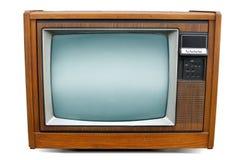 Retro televisione della TV Immagini Stock