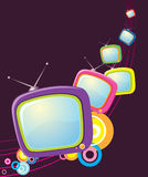 Retro televisions Royalty Free Stock Photo