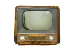 Retro televison Fotografia Stock Libera da Diritti