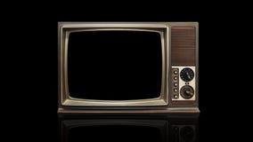 Retro telewizja Zdjęcia Royalty Free