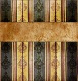 Retro template. Absract retro gold flourish classical template Royalty Free Stock Photos