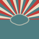 Retro template background. Royalty Free Stock Images