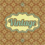 Retro Template Design - Vintage Background vector illustration