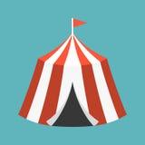 Retro tenda di circo Immagine Stock Libera da Diritti
