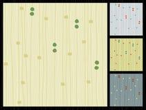 Retro tessuto allineato Barkcloth Fotografia Stock Libera da Diritti