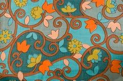 Retro textile background Stock Image