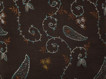 Retro textile fabric Royalty Free Stock Photo
