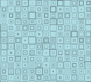 Retro texture of squares Royalty Free Stock Photo