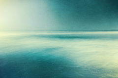 Retro Textured Seascape Royalty Free Stock Image