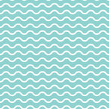 Retro textured wave shaped seamless background. Retro textured green wave shaped seamless background in vector format Stock Photo