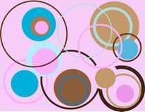 Retro texturen Royalty-vrije Stock Afbeelding