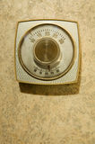 Retro Thermostat Stock Image