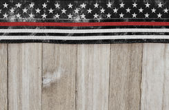 Retro thin red line background Royalty Free Stock Photo