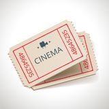 Retro tickets Stock Photos