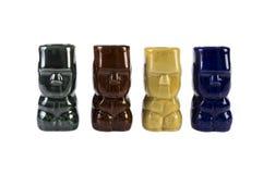 Retro Tiki Totem Shooters Stock Photo