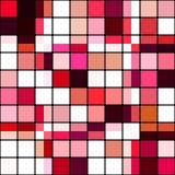 Retro tile mosaic Royalty Free Stock Photos