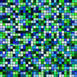Retro tile mosaic Stock Photography