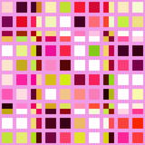 Retro tile mosaic Stock Images