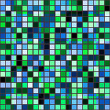 Retro tile mosaic Royalty Free Stock Image