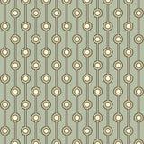 Retro tile txture. Retro pattern texture in green tones Royalty Free Stock Image