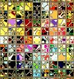 retro tiles στοκ εικόνα