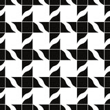 Retro tiles seamless pattern, vector background. Stock Images