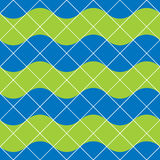 Retro tiles seamless pattern, vector background. Stock Photo