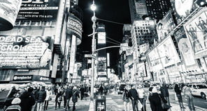 Retro times square Nowy Jork Zdjęcia Royalty Free